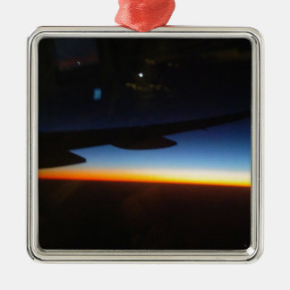 Frequent Flyer Vertical Metal Ornament