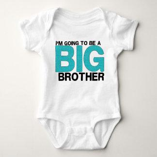 Frère mignon pour le bébé tee-shirt