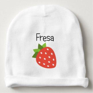 Fresa (Strawberry) Baby Beanie