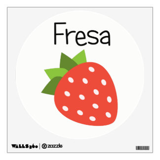 Fresa (Strawberry) Wall Decal