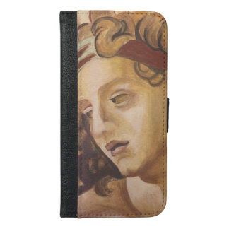 Fresco Re-create: Sistine Chapel-Ignudo iPhone 6/6s Plus Wallet Case
