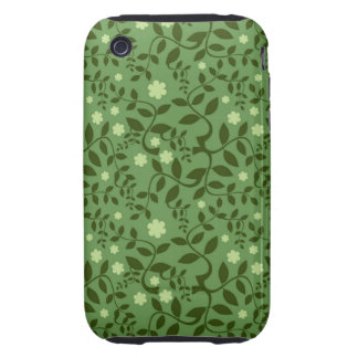 Fresh and Fancy Spring Floral iPhone 3 Tough Case
