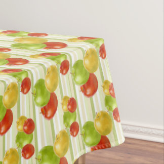 Fresh apple fruit pattern kitchen tablecloth