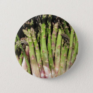 Fresh asparagus hand picked from the garden 2 inch round button