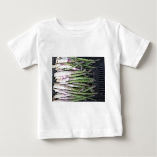 Fresh asparagus hand picked from the garden baby T-Shirt