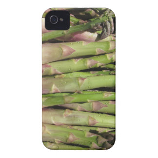 Fresh asparagus hand picked from the garden Case-Mate iPhone 4 cases