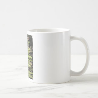 Fresh asparagus hand picked from the garden coffee mug