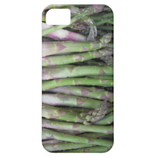 Fresh asparagus hand picked from the garden iPhone 5 cover
