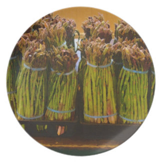 Fresh Asparagus - Pike Place Market Dinner Plates