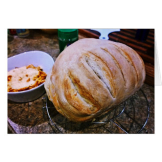 Fresh Baked Bread and Pasta Card