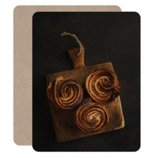 Fresh baked cruffins card