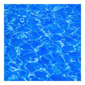 Fresh Blue Water Photo Print