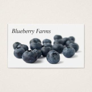 Fresh Blueberries Business Card