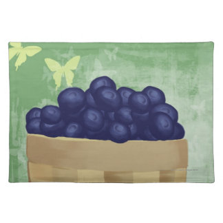 Fresh Blueberries Placemats