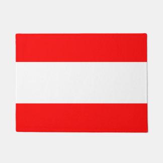 Fresh Bold Nautical stripes Doormat