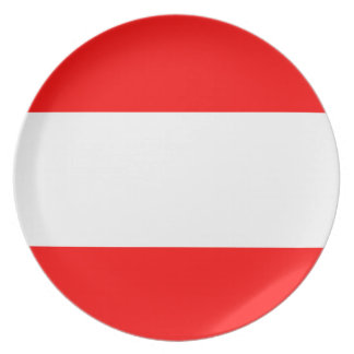 Fresh Bold Nautical stripes Plate