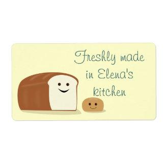 Fresh Bread Avery Label
