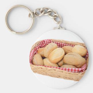 Fresh bread rolls keychain