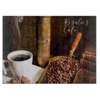 Fresh Brewed Coffee Cutting Board