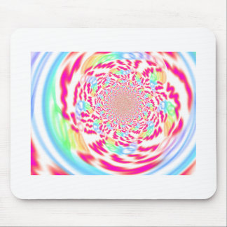 Fresh, bright and bubbly fractal art mousepad