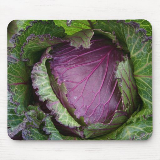 Fresh Cabbage Mouse Pad
