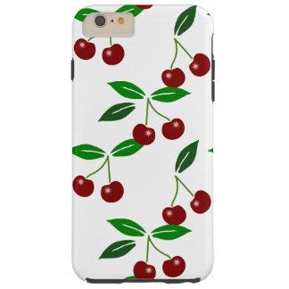 Fresh Cherry Seamless Pattern Tough iPhone 6 Plus Case