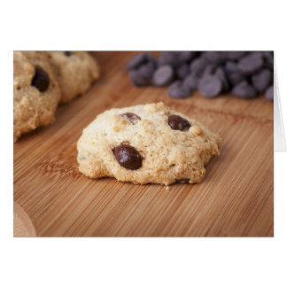 Fresh Chocolate Chip Cookie Card