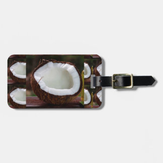 Fresh Coconut chefs healthy flavour cuisine foods Bag Tag