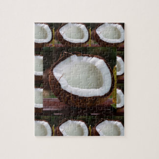 Fresh Coconut chefs healthy flavour cuisine foods Puzzle