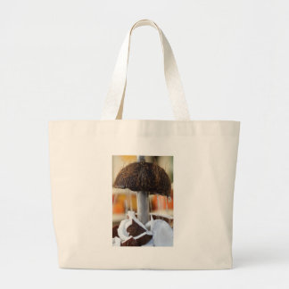 fresh coconut in the street large tote bag