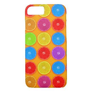 Fresh Colorful Orange Slices iPhone 8/7 Case