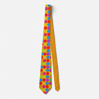 Fresh Colorful Orange Slices Tie