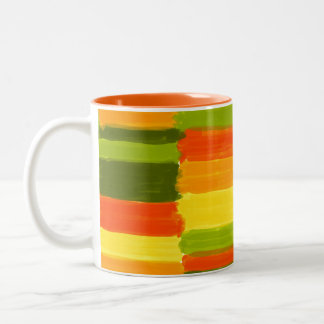 Fresh Colours NO 1: two-colored cup inside orange