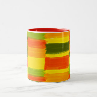 Fresh Colours NO 1: two-colored cup, inside red Two-Tone Coffee Mug