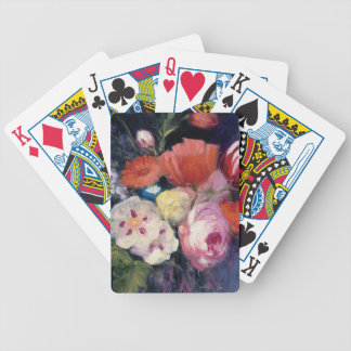 Fresh Cut Spring Flower Bicycle Playing Cards