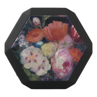 Fresh Cut Spring Flower Black Bluetooth Speaker