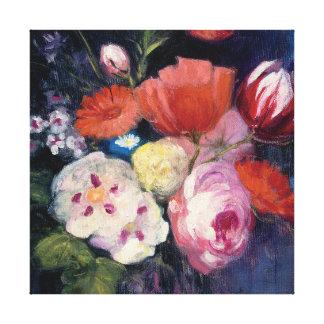 Fresh Cut Spring Flower Canvas Print
