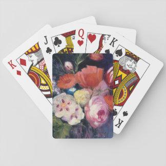 Fresh Cut Spring Flower Playing Cards