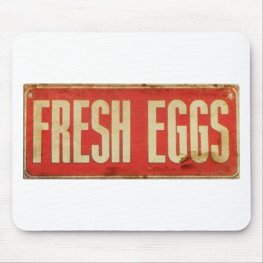 Fresh Eggs Mouse Pad