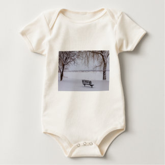 Fresh Fallen Snow Baby Bodysuit