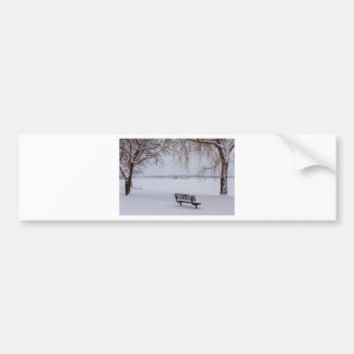Fresh Fallen Snow Bumper Sticker
