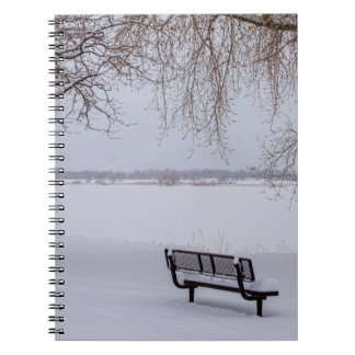Fresh Fallen Snow Notebook