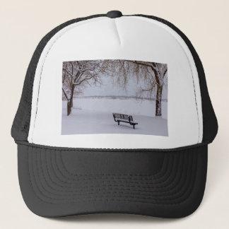Fresh Fallen Snow Trucker Hat