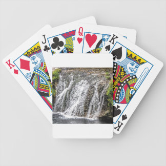 fresh falls in the forest bicycle playing cards