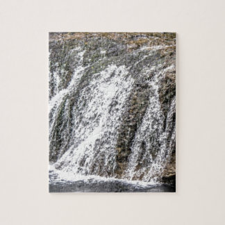 fresh falls in the forest jigsaw puzzle