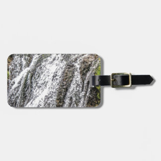 fresh falls in the forest luggage tag