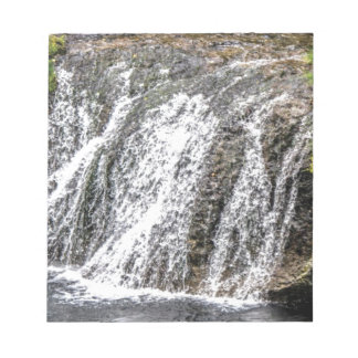 fresh falls in the forest notepad