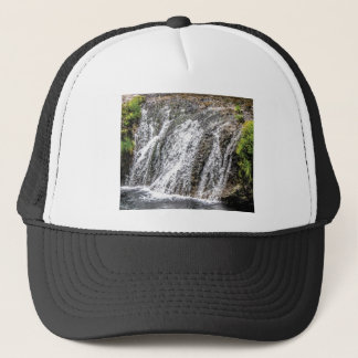 fresh falls in the forest trucker hat