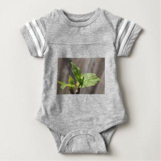 Fresh Fig Leaf Baby Bodysuit