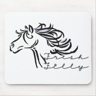 fresh filly mouse pad